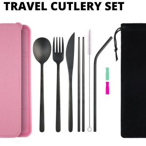 Travel Cutlery Set 11 pc